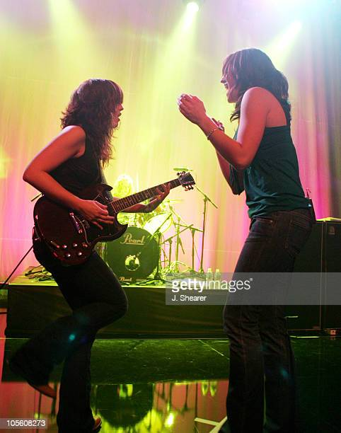Allison Robertson and Brett Anderson of The Donnas