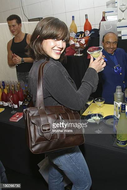 Allison Robertson of the Donna's during 2003 MTV Video Music Awards Backstage Creations Day 2 at Radio City Music Hall in New York City New York...