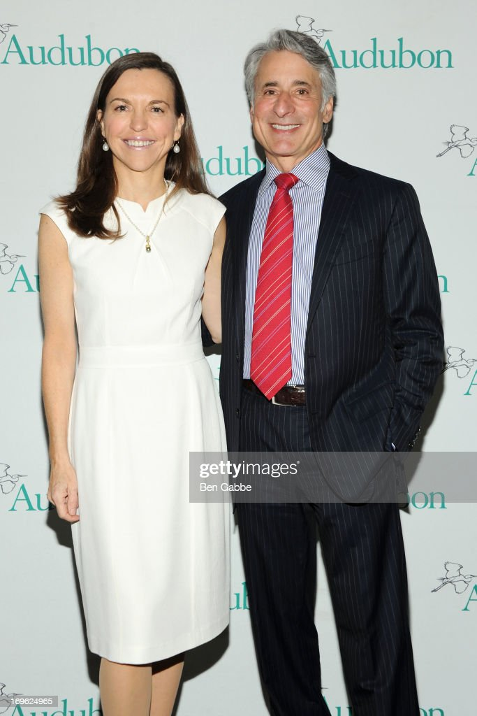Allison Rockefeller and David Yarnold attend The National Audubon Society 10th Anniversary Women in Conservation Luncheon on May 29, 2013 in New York, United States.