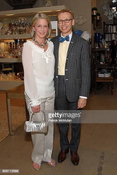 Allison Roeder and Mish Tworkowski attend Cocktails at Hollyhock Honoring Mish NY and the Breast Center at UCLA at West Hollywood on May 7 2007 in...