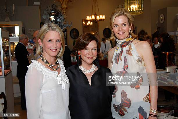 Allison Roeder Suzanne Rheinstein and Stephanie Murray attend Cocktails at Hollyhock Honoring Mish NY and the Breast Center at UCLA at West Hollywood...