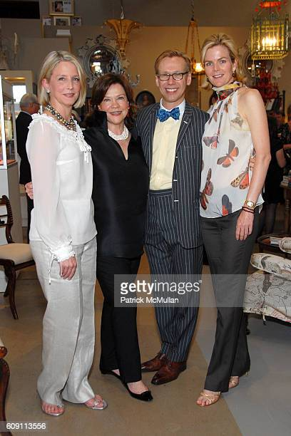 Allison Roeder Suzanne Rheinstein Mish Tworkowski and Stephanie Murray attend Cocktails at Hollyhock Honoring Mish NY and the Breast Center at UCLA...