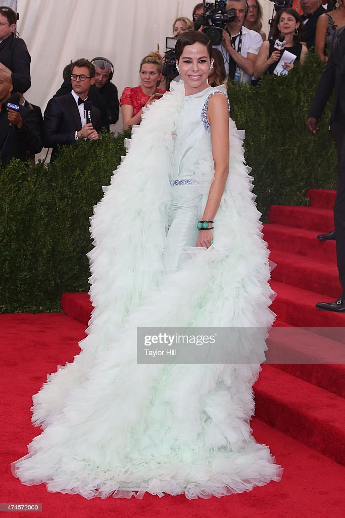 Allison Sarofim attends 'China: Through the Looking Glass', the 2015 Costume Institute Gala, at Metropolitan Museum of Art on May 4, 2015 in New York City.