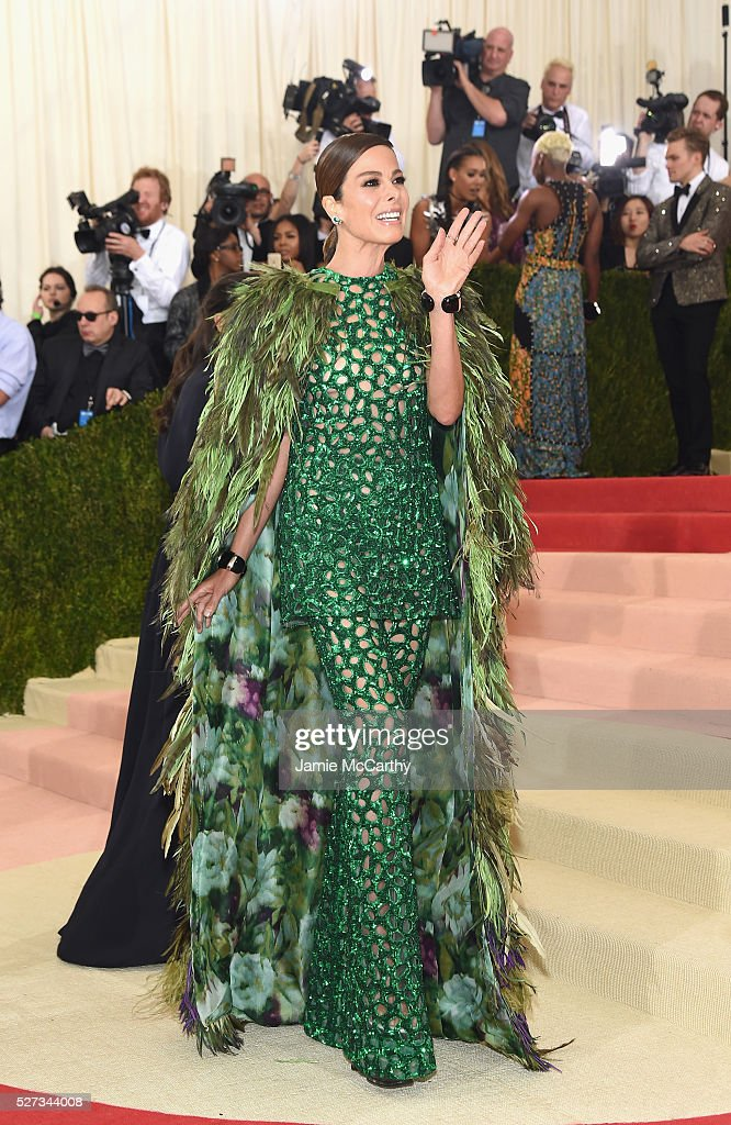 Allison Sarofim attends the 'Manus x Machina: Fashion In An Age Of Technology' Costume Institute Gala at Metropolitan Museum of Art on May 2, 2016 in New York City.