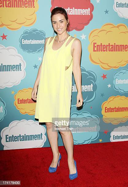 Allison Scagliotti arrives at the Entertainment Weekly's Annual ComicCon celebration held at Float at Hard Rock Hotel San Diego on July 20 2013 in...