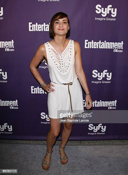 Allison Scagliotti attends Entertainment Weekly's Syfy Party during ComicCon 2009 held at Hotel Solamar on July 25 2009 in San Diego California