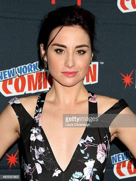 Allison Scagliotti of 'Stitchers' attends day 2 of New York ComicCon 2015 at The Jacob K Javits Convention Center on October 9 2015 in New York City