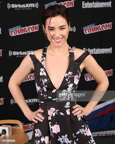 Allison Scagliotti visits the SiriusXM Studios at New York ComicCon at The Jacob K Javits Convention Center on October 9 2015 in New York City