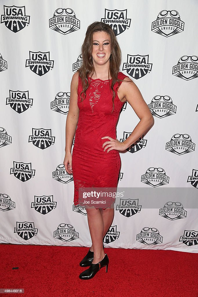<a gi-track='captionPersonalityLinkClicked' href=/galleries/search?phrase=Allison+Schmitt&family=editorial&specificpeople=4443033 ng-click='$event.stopPropagation()'>Allison Schmitt</a> attends the 2015 USA Swimming Golden Goggle Awards at J.W. Marriot at L.A. Live on November 22, 2015 in Los Angeles, California.