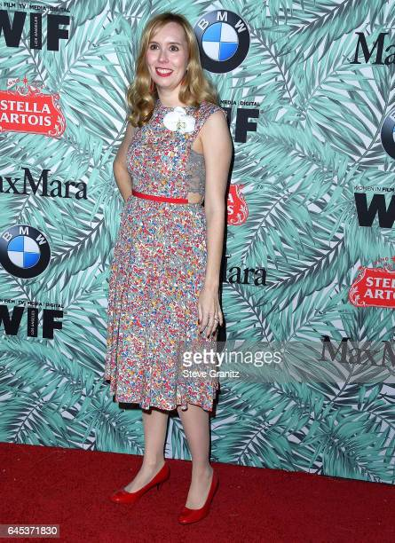 Allison Schroeder arrives at the 10th Annual Women In Film PreOscar Cocktail Party at Nightingale Plaza on February 24 2017 in Los Angeles California