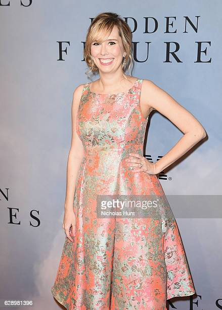 Allison Schroeder attends the 'Hidden Figures' New York Special Screening on December 10 2016 in New York City