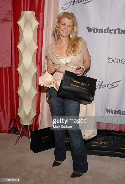 Allison Sweeney during Wonderbra at the Silver Spoon Beauty Buffet Day Two in Beverly Hills California United States