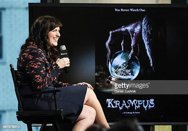 Allison Tolman attends AOL Build to discuss her new film 'Krampus' at AOL Studios on November 17 2015 in New York City