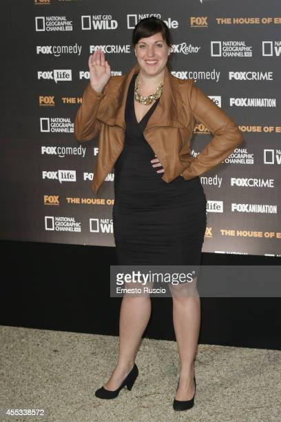 Allison Tolman attends the Fox International Channels Party at Villa Aurelia on September 12 2014 in Rome Italy