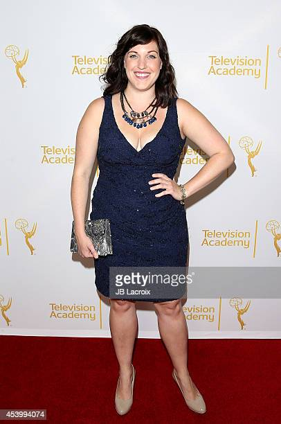 Allison Tolman attends the Television Academy's Producers Peer Group Celebrates the 66th Annual Emmy Awards at The London West Hollywood on August 22...