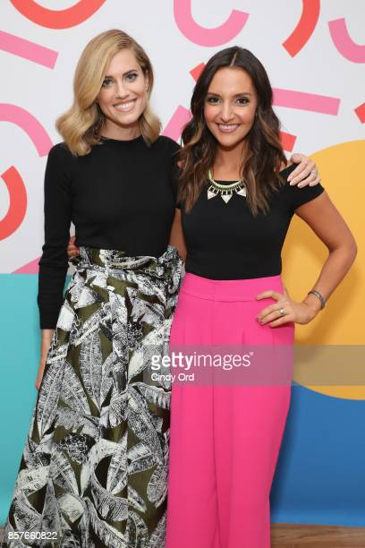 Allison Williams and Brit Morin attend Brit Co Kicks Off Experiential PopUp #CreateGood with Allison Williams and Daphne Oz at Brit Co on October 4...