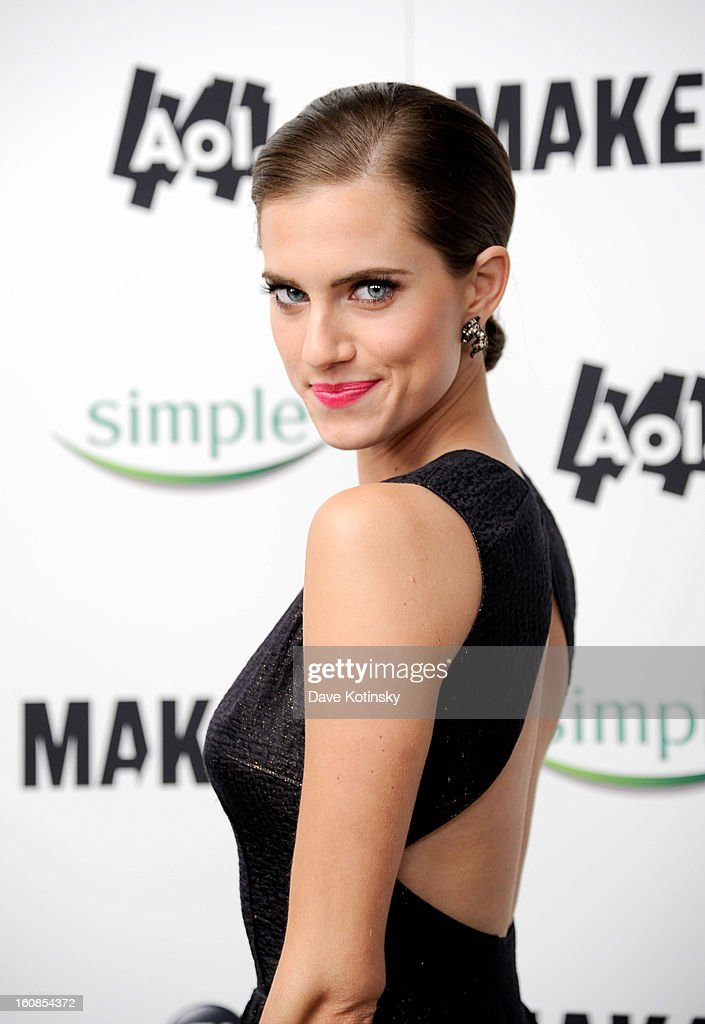 Allison Williams arrives at 'MAKERS: Women Who Make America' New York Premiere at Alice Tully Hall on February 6, 2013 in New York City.