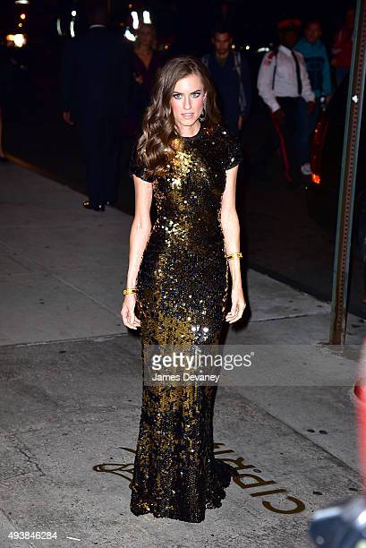 Allison Williams arrives to Cipriani Wall Street on October 22 2015 in New York City