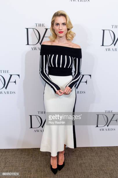 Allison Williams attends the 2017 DVF Awards at United Nations on April 6 2017 in New York City