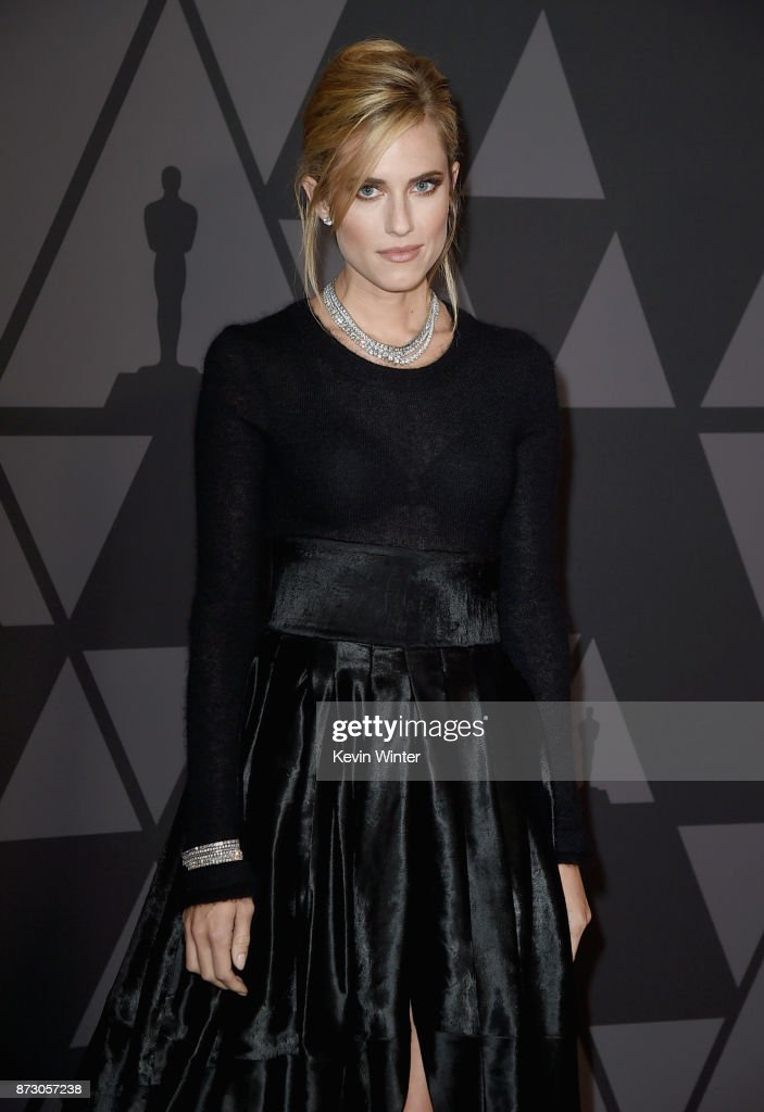 Allison Williams attends the Academy of Motion Picture Arts and Sciences' 9th Annual Governors Awards at The Ray Dolby Ballroom at Hollywood & Highland Center on November 11, 2017 in Hollywood, California.