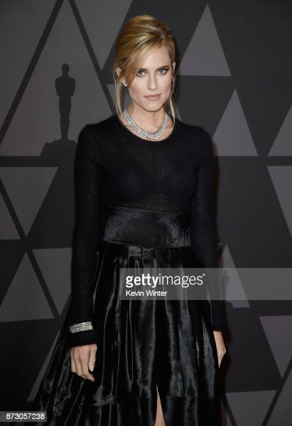 Allison Williams attends the Academy of Motion Picture Arts and Sciences' 9th Annual Governors Awards at The Ray Dolby Ballroom at Hollywood Highland...