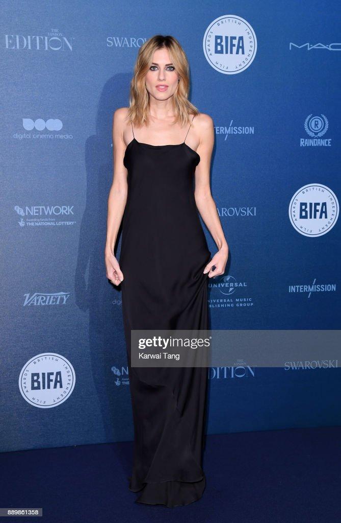 Allison Williams attends the British Independent Film Awards held at Old Billingsgate on December 10, 2017 in London, England.