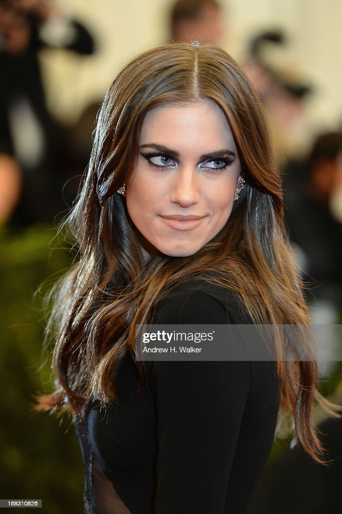 Allison Williams attends the Costume Institute Gala for the 'PUNK: Chaos to Couture' exhibition at the Metropolitan Museum of Art on May 6, 2013 in New York City.