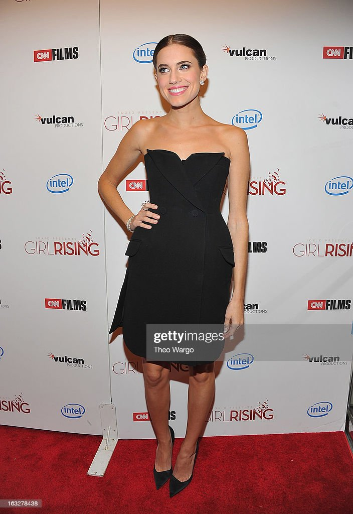 <a gi-track='captionPersonalityLinkClicked' href=/galleries/search?phrase=Allison+Williams&family=editorial&specificpeople=594198 ng-click='$event.stopPropagation()'>Allison Williams</a> attends the 'Girl Rising' premiere at The Paris Theatre on March 6, 2013 in New York City.