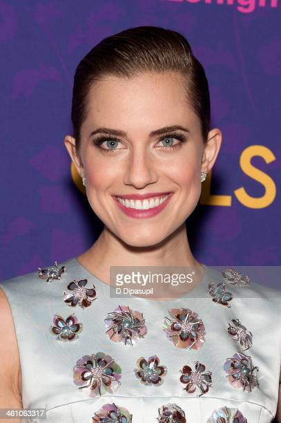 Allison Williams attends the 'Girls' season three premiere at Jazz at Lincoln Center on January 6 2014 in New York City
