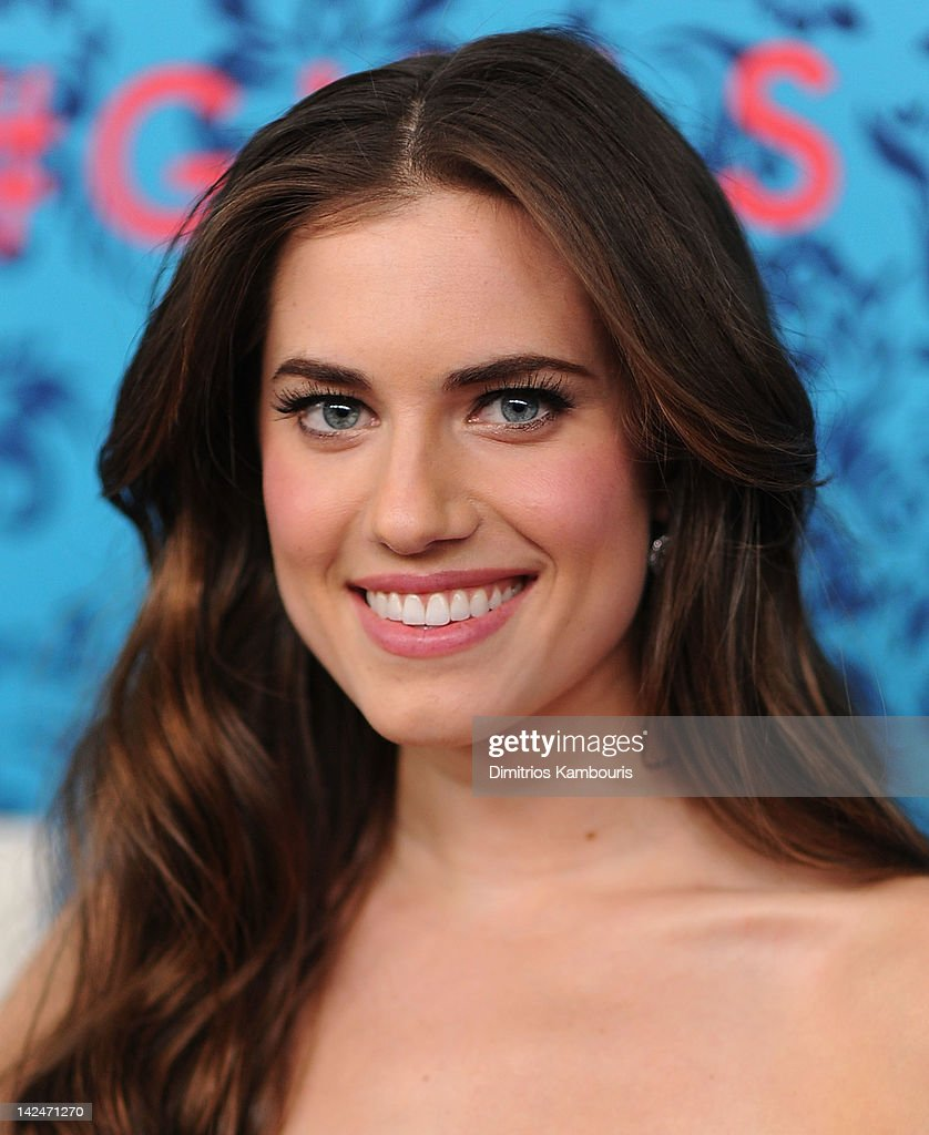 Allison Williams attends the HBO with the Cinema Society host the New York premiere of HBO's 'Girls' at the School of Visual Arts Theater on April 4, 2012 in New York City.
