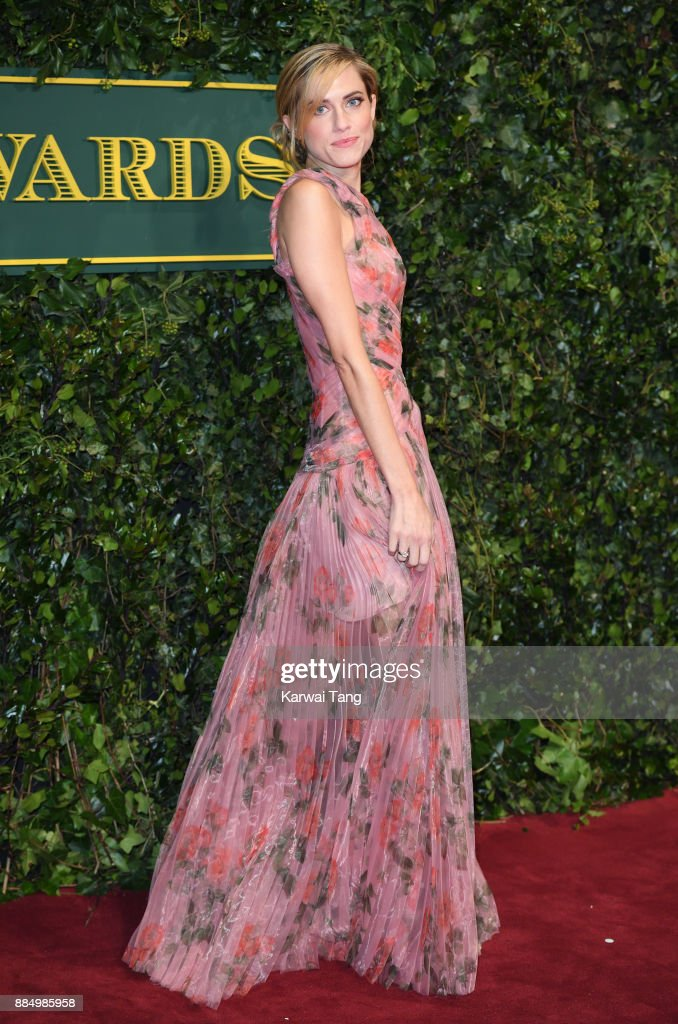Allison Williams attends the London Evening Standard Theatre Awards at Theatre Royal on December 3, 2017 in London, England.