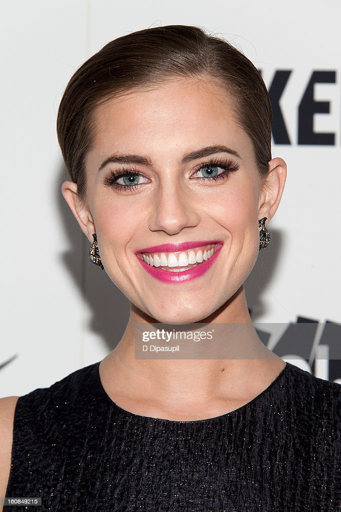 Allison Williams attends the 'MAKERS: Women Who Make America' New York Premiere at Alice Tully Hall on February 6, 2013 in New York City.