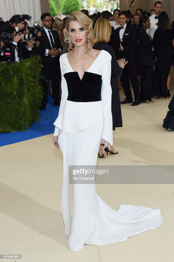 Allison Williams attends the 'Rei Kawakubo/Comme des Garcons: Art Of The In-Between' Costume Institute Gala at Metropolitan Museum of Art on May 1, 2017 in New York City.