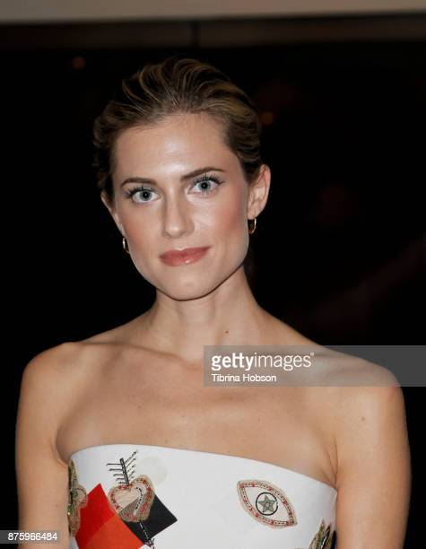 Allison Williams attends the SAGAFTRA Foundations conversations and screening of 'Get Out' at Pacific Design Center on November 17 2017 in West...