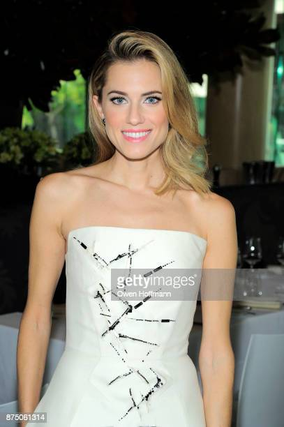 Allison Williams attends Universal Pictures' 'Get Out' Peggy Siegel Luncheon at Lincoln Ristorante on November 15 2017 in New York City
