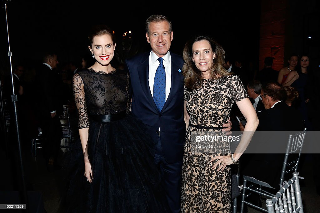 <a gi-track='captionPersonalityLinkClicked' href=/galleries/search?phrase=Allison+Williams+-+Actress&family=editorial&specificpeople=594198 ng-click='$event.stopPropagation()'>Allison Williams</a>, Brian Williams and Jane Stoddard Williams attend the Winter Ball for Autism at Metropolitan Museum of Art on December 2, 2013 in New York City.