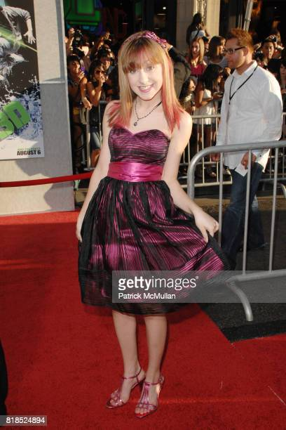 Allisyn Arm attends World Premiere of STEP UP 3D at El Capitan Theatre on August 2 2010 in Hollywood CA