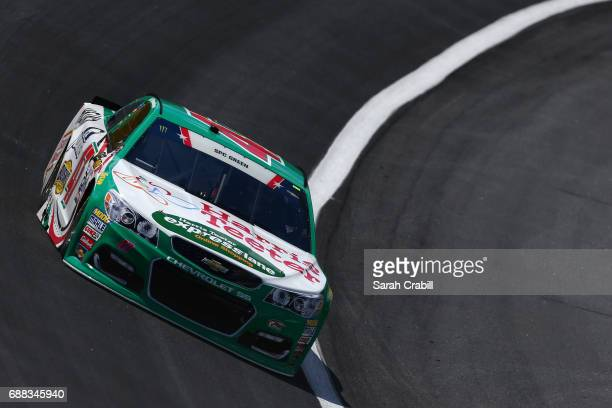 Allmendinger driver of the Harris Teeter Express Lane Chevrolet practices for the Monster Energy NASCAR Cup Series CocaCola 600 at Charlotte Motor...