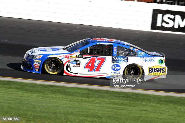 J Allmendinger driver of the Kroger Click List Chevy during practice for the Monster Energy NASCAR Cup Series race on September 23 at New Hampshire...