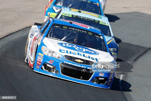 Allmendinger Monster Energy NASCAR Cup Series driver of the Kroger ClickList Chevrolet during the Monster Energy Cup Series ISM Connect 300 on...