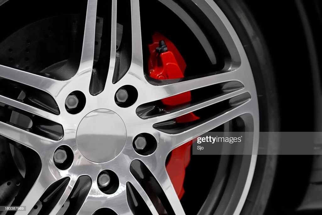 Alloy on a sports car