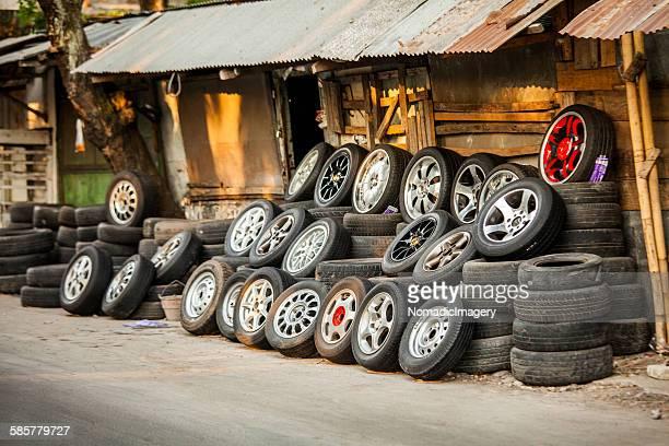 Alloy wheels in Asia