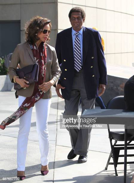 AllStar Elgin Baylor is seen on March 24 2017 in Los Angeles California