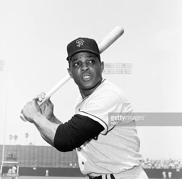 BASEBALL '1967 AllStar Game' Pictured San Francisco Giant's WIllie Mays during the 1967 AllStar Game held at at Anaheim Stadium in Anaheim California...