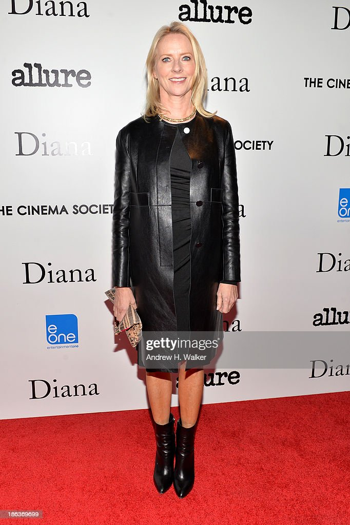Allure Magazine Editor-in-Chief <a gi-track='captionPersonalityLinkClicked' href=/galleries/search?phrase=Linda+Wells&family=editorial&specificpeople=215294 ng-click='$event.stopPropagation()'>Linda Wells</a> attends the screening of Entertainment One's 'Diana' hosted by The Cinema Society With <a gi-track='captionPersonalityLinkClicked' href=/galleries/search?phrase=Linda+Wells&family=editorial&specificpeople=215294 ng-click='$event.stopPropagation()'>Linda Wells</a> and Allure Magazine at SVA Theater on October 30, 2013 in New York City.