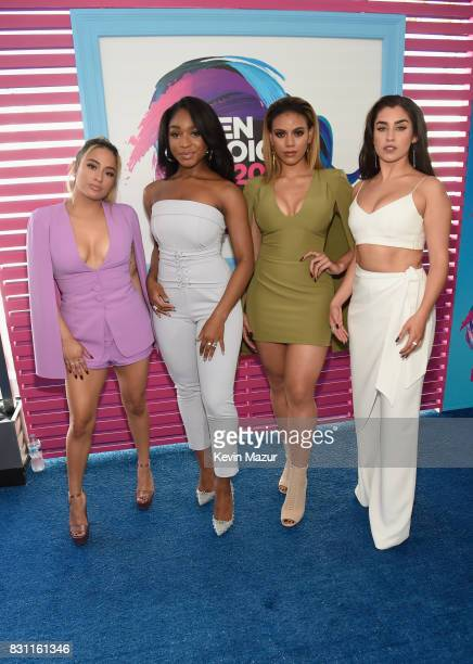Ally Brooke Normani Kordei Dinah Jane and Lauren Jauregui of Fifth Harmony attend the Teen Choice Awards 2017 at Galen Center on August 13 2017 in...