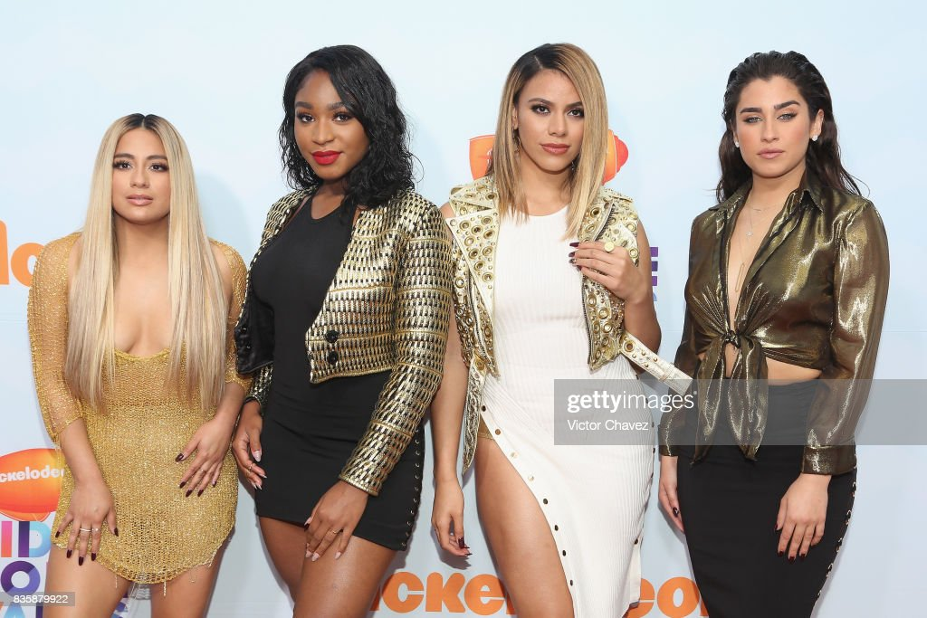 Ally Brooke, Normani Kordei, Dinah Jane Hansen and Lauren Jauregui of Fifth Harmony attend the Nickelodeon Kids' Choice Awards Mexico 2017 at Auditorio Nacional on August 19, 2017 in Mexico City, Mexico.