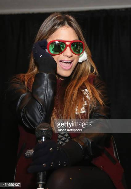 Ally Brooke of Fifth Harmony attends KDWB's Jingle Ball preparty 1013 KDWB's Jingle Ball 2013 official preshow at Roy Wilkins Auditorium on December...