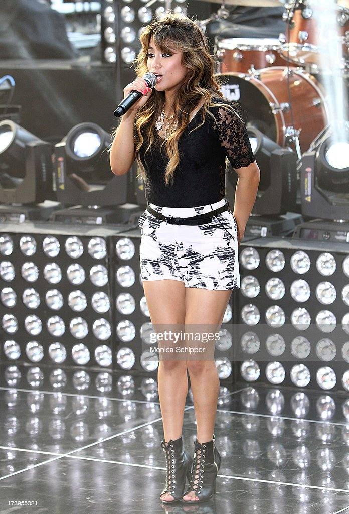 <a gi-track='captionPersonalityLinkClicked' href=/galleries/search?phrase=Ally+Brooke&family=editorial&specificpeople=9748330 ng-click='$event.stopPropagation()'>Ally Brooke</a> of Fifth Harmony performs at NBC's TODAY Show on July 18, 2013 in New York City.