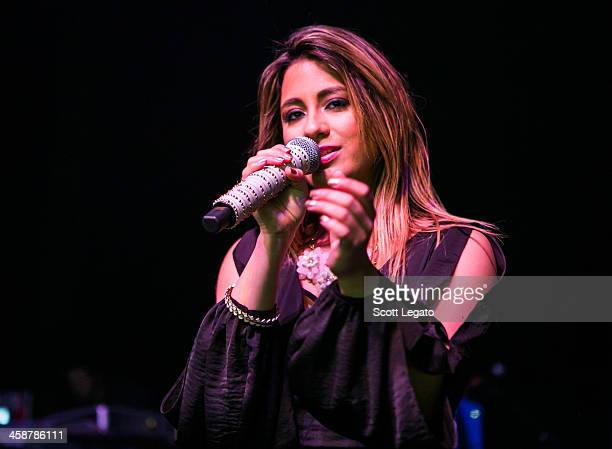 Ally Brooke of Fifth Harmony performs at the 2013AMP 987 Kringle Jingle at The Fillmore on December 15 2013 in Detroit Michigan